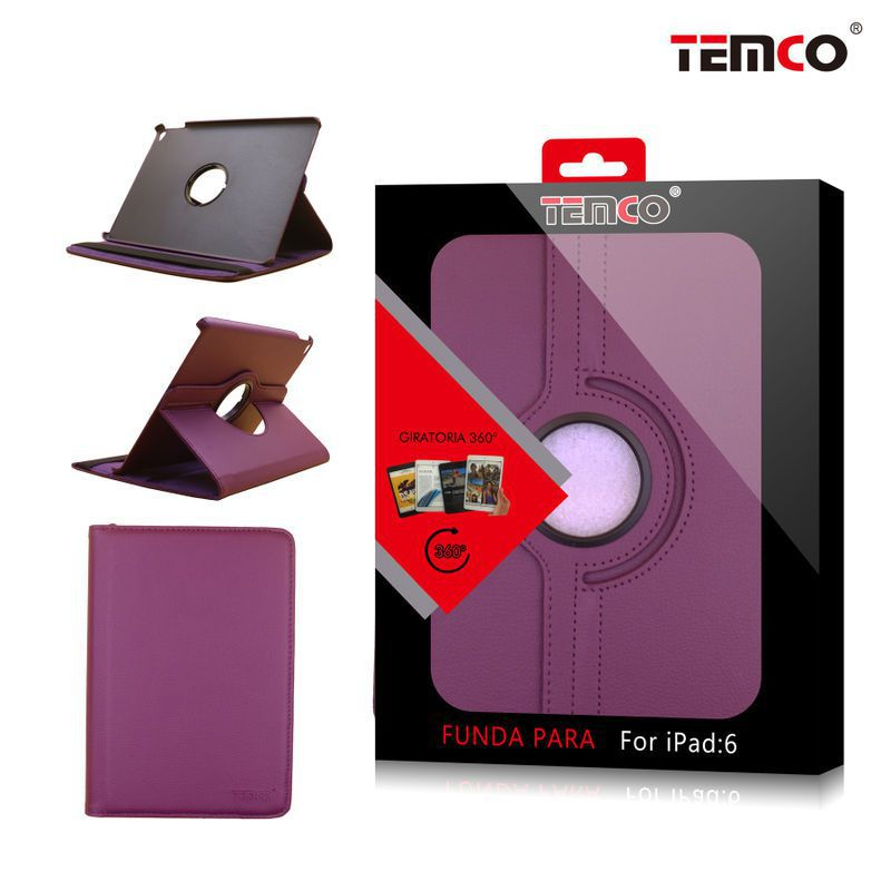 Funda iPad 5 / 6 / Air 2 Morado