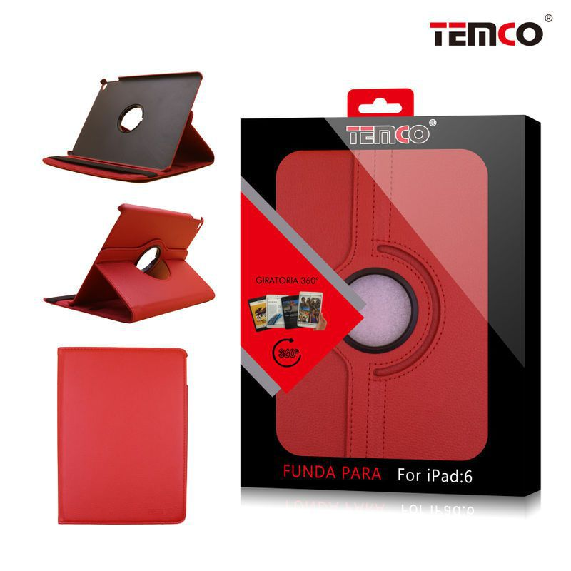 Funda iPad 5 / 6 / Air 2 Rojo