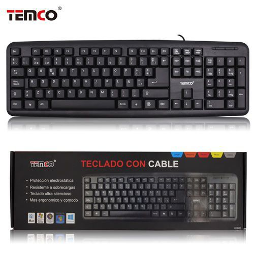 Temco wired keyboard