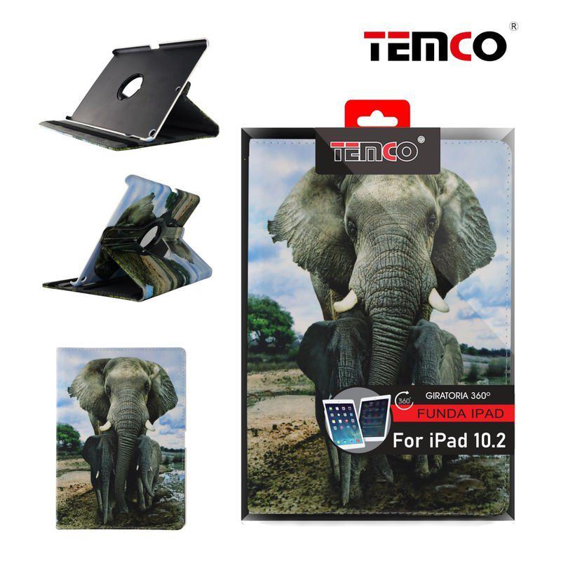 Funda iPad 10.2'' Elephant