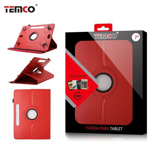 Funda Tablet Universal 7.0 Rojo