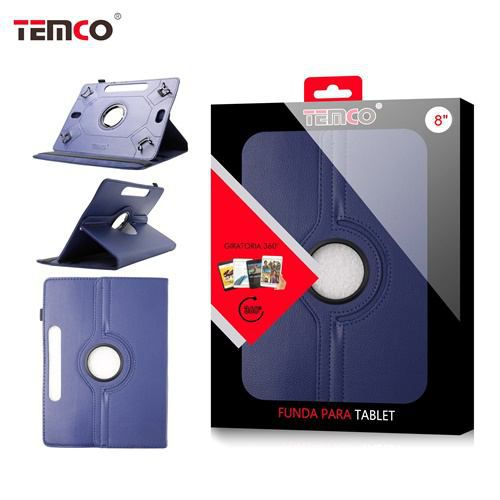 funda tablet universal 8.0 azul