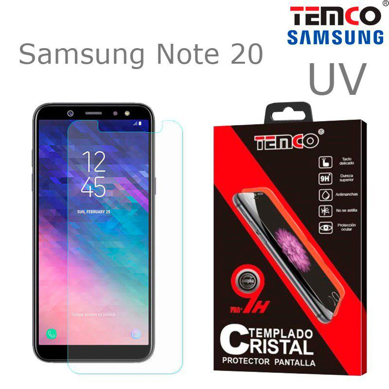 Cristal UV Samsung Note 20