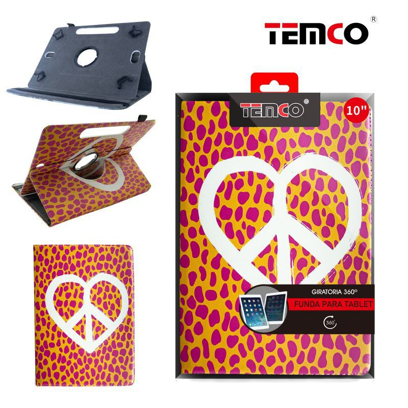 Funda Tablet Universal 10,0'' Heart