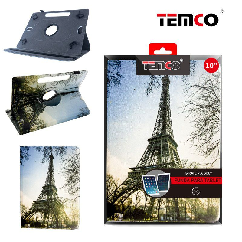 Funda Tablet Universal 10,0'' Tree Eiffel Tower