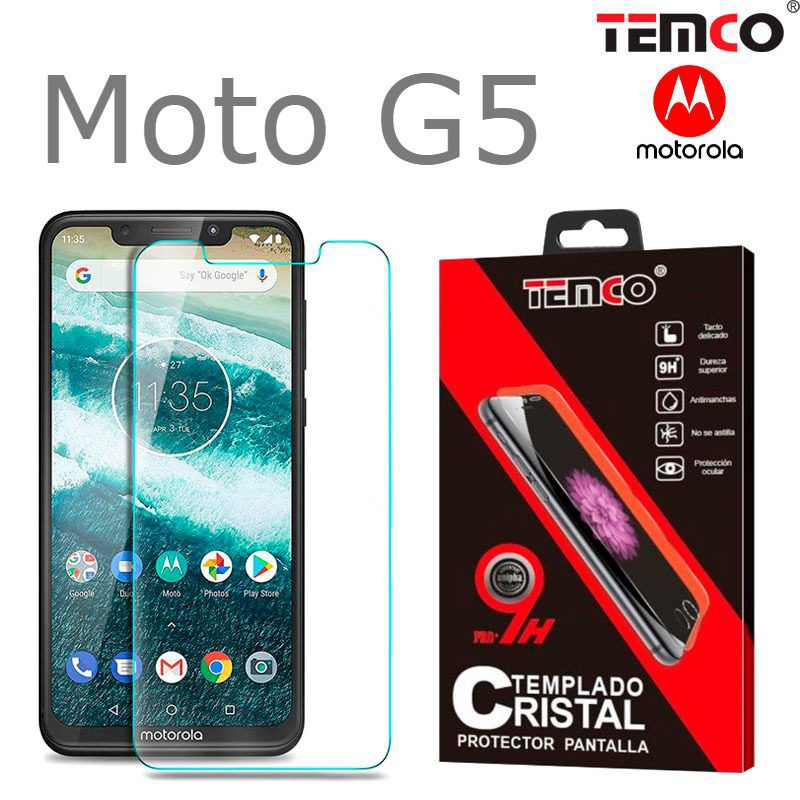 Tempered Glass Moto G5