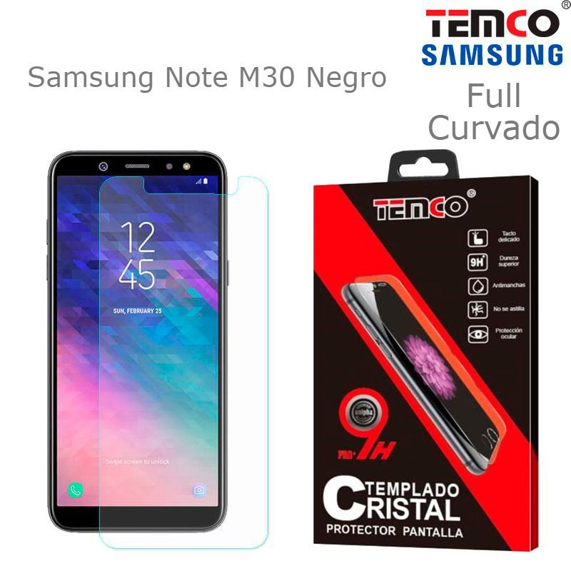 Cristal Full 3D Samsung Note M30 Negro